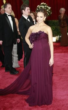 Jessica Alba in Marchesa, 2009
