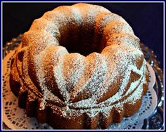 Sweet Tea and Cornbread: Brown Sugar Bourbon Pound Cake!