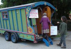 gypsy wagon bookmobile