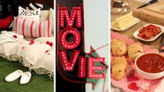 DIY Movie Night for Valentine's Day