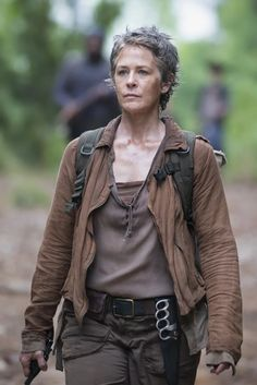 "The Walking Dead Season Melissa McBride Calls Carol Her ""Hero"" Carl The Walking Dead, The Walk Dead, Walking Dead Tv Series, Walking Dead Season, Melissa Mcbride, The Sims, Popsugar, Daryl And Carol, Twd Memes"