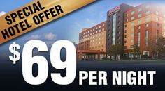 Sunday-Thursday room rate of $69, available the following dates:  April 14-18  April 21-25
