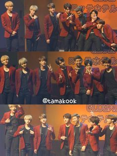 #BTS #방탄소년단 at the Lotte fan meeting. They be finer than diamond.