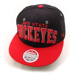 52d34a3ce7c Ohio State Buckeyes Superstar Adjustable Snapback Cap Black