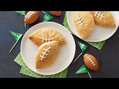 Mini Football Buffalo Chicken Calzones recipe from Pillsbury.com