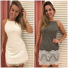 Image may contain: 2 people Instagram, Photo And Video, Formal Dresses, Womens Fashion, Casual, Image, Gray Dress, White Dress, Shopping
