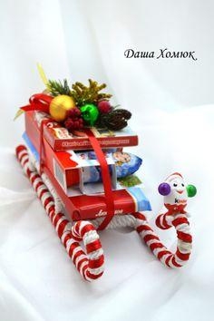 ru / Photo # 83 - New Year - Kisenok-Lisenok- Gallery.ru / Photo # 83 – New Year – Kisenok-Lisenok - Cheap Christmas Gifts, Christmas Mood, Homemade Christmas Gifts, Christmas Makes, Christmas Candy, New Year Diy, Christmas Crafts, Christmas Decorations, Gift Wraping