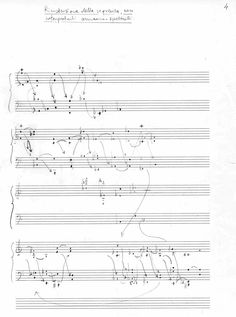 "Giuliano D'Angiolini ""Simetrie di ritorno"", 2000 Graphic Score, Graphic Art, Graphic Design, Experimental Music, John Cage, Music Writing, Call Of Cthulhu, Music Score, Journalling"