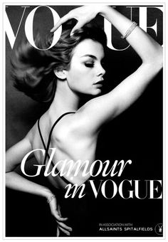 I love fashion magazines | VOGUE fashion cover | Black & White | Strike A Pose