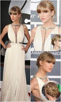 Celebrities' Looks – Taylor Swift Trendy Haircuts 2014 with 22 inch Hair Extensions