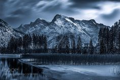 Moonlight - Pinned by Mak Khalaf Totes Gebirge in Austria Landscapes Full moonMountainNightVollmondWinter by andreasgrund