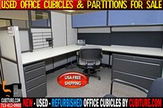 Office Cubicle Partitions By CUBITURE.COM Is The Leading Manufacturer Of New, Used & Refurbished Office Workstations Furniture Cubicles & Workstations.