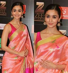 Asian Celebrities, Celebs, Shes My Cherry Pie, Aalia Bhatt, Bollywood Actress, Indian Actresses, Ethnic, Sari, Blouse