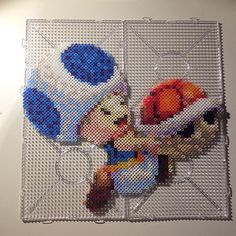 Toad perler beads by pgs_parlor