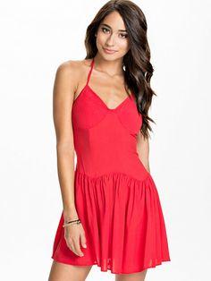 Cw88 04140142 Dress - Catwalk88 - Red - Dresses - Clothing - Women - Nelly.com Uk
