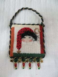 Small Santa by Mary Beth for her grandson.