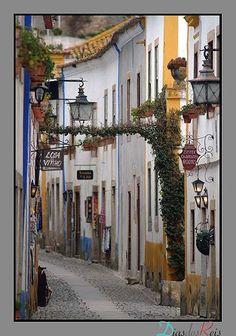 Óbidos, Portugal  Just a short drive away.
