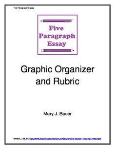 five paragraph essay graphic organizer