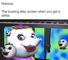 """'Bowling Alley Screen' Memes Might Be The Most WTF Thing We've Seen All Year - Funny memes that """"GET IT"""" and want you to too. Get the latest funniest memes and keep up what is going on in the meme-o-sphere. All Meme, Stupid Funny Memes, Funny Relatable Memes, Haha Funny, Funny Posts, Hilarious, Funny Stuff, Random Stuff, Funniest Memes"""
