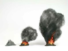 burning barrels and tyres - with painting guide