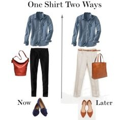One Shirt Two Ways