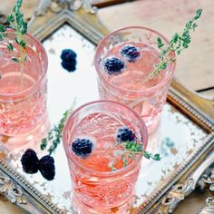 4 drink recipes that make your soiree look extra fancy