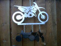 Dirt Bike Wind Chime