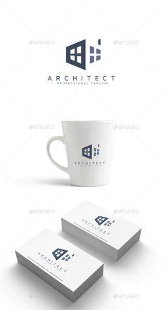 Architect Logo abstract, architect, architecture, bold, brand, builder, building, business, construction, design, finance, hexagon, hexagonal, home, house, insurance, logo, media, modern, multimedia, office, professional, property, real estate, rental, studio, virtual, window