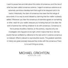michael crichton essay on global warming A few inconvenient truths about michael crichton  although crichton has lost the battle regarding global warming,  this essay asks.