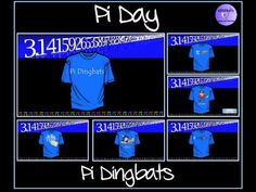 Pi Dingbats - An Ideal Fun Resource for Pi Day (14th March)