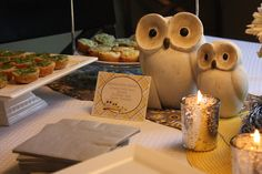 **this: Owl Theme (Yellow and Gray) Baby Shower Party Ideas | Photo 21 of 21 | Catch My Party