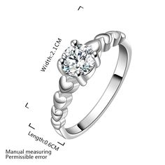 Wholesale Free Shipping silver plated Ring,silver plated Fashion Jewelry crystal six heart Ring SMTR606,   Engagement Rings,  US $1.88,   http://diamond.fashiongarments.biz/products/wholesale-free-shipping-silver-plated-ringsilver-plated-fashion-jewelry-crystal-six-heart-ring-smtr606/,  US $1.88, US $1.79  #Engagementring  http://diamond.fashiongarments.biz/  #weddingband #weddingjewelry #weddingring #diamondengagementring #925SterlingSilver #WhiteGold