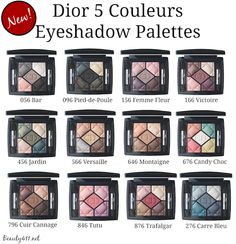 The Dior 5 Couleurs Palette Collection...gorgeous!