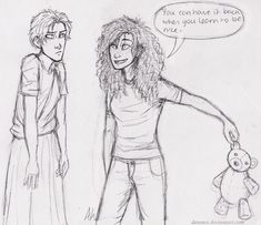 'You can have it back when you learn to be nice.' by Deesney.deviantart.com on @deviantART<--Ahahaha