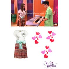 get the look violetta