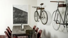 Ono launches range of wooden hooks to display bikes at home