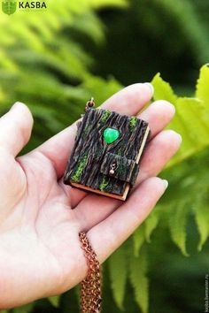 Pendants handmade.  Fair Masters - handmade.  Buy Door to a fairy tale.  Pendant-notebook.  Handmade.  Tree