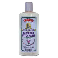 With all the facial medication I have to use, this stuff lifts excess oil without drying. >> Thayers Alcohol-Free Lavender Witch Hazel Toner