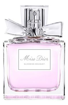 Dior 'Miss Dior Chérie' Eau de Toilette Spray - it doesn't really matter how it smells, but i'm obsessed w/perfume bottles, and this is one of them. Sweet perfume* lady fragrances* apply *smell great *popular choice* pin it! Perfumes Dior, Dior Fragrance, Miss Dior Blooming Bouquet, Christian Dior, Parfum Miss Dior, Beautiful Perfume, Best Perfume, Perfume Collection, Body Spray