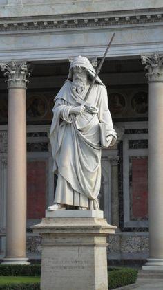 Basílica de San Pablo de Extramuros. Roma Italia