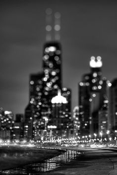 i like the shallow depth of field. Usually photographers would want the city in focus but this is just the opposite