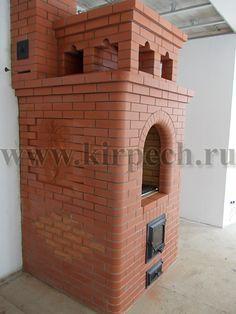 Кирпичная отопительно-варочная печь «Шведка» Brickwork, Bunker, Oven, House, Home Decor, Ideas, Ovens, Decoration Home, Home