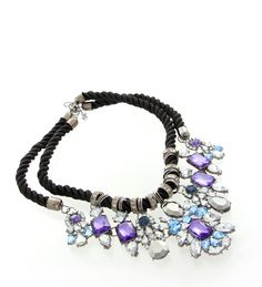 This amazing statement necklace is the talk of the town. Bring out your evening charm with this beauty.