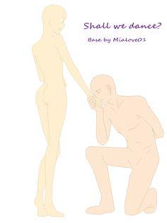 Base couple- Shall we dance? by mialove01.deviantart.com on @deviantART