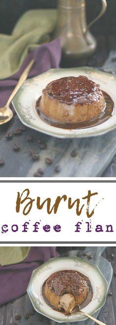 Burnt Coffee Flan   Pan's Labyrinth #FoodnFlix