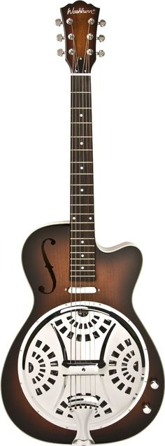 Washburn R15RCE Resonator Guitar: Amazon.co.uk: Musical Instruments