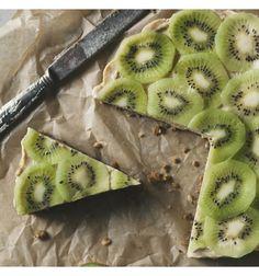 Lime-kiivi raakakakku Real Food Recipes, Pineapple, Lime, Fruit, Limes, Pine Apple, Healthy Food Recipes, Key Lime