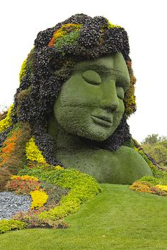 """Mother Earth"" - Canada #arts #exhibition #Canada #horticulture"