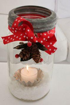 darling snow jar inspiration