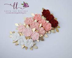 Quality handmade bows and felt flowers for your littles! Diy Hair Bows, Diy Bow, Felt Headband, Headbands, Felt Diy, Felt Crafts, Felt Flowers, Fabric Flowers, Baby Girl Hair Accessories